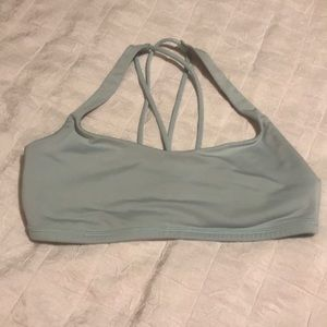Lululemon Baby Blue  Sports Bra